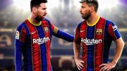 SỐC: Aguero chia tay Barcelona cùng Messi?