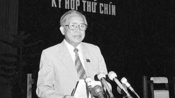 Vị Tướng duy nhất trở thành Chủ tịch Quốc hội và dấu ấn trong câu chuyện giới thiệu 2 ứng viên để bầu Thủ tướng
