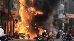 VIDEO: Nghi phạm phóng hỏa khiến 4 ngôi nhà cháy rụi