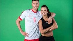Bí quyết thành công của Lewandowski hóa ra lại chính là cô vợ xinh đẹp