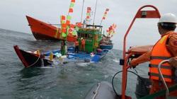 Video: Cảnh sát biển ứng cứu kịp thời 18 thuyền viên gặp sự cố trong bão Conson