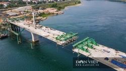 Hòa Bình: Dự án cầu 600 tỷ 2 nối 2 bờ sông Đà sắp về đích, dự kiến thông xe đầu tháng 10