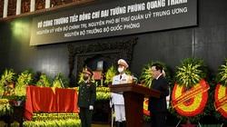 Đại tướng Phùng Quang Thanh là người chiến sĩ cộng sản bản lĩnh, mưu lược, quyết đoán, quả cảm