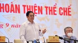 Thủ tướng: Chống tham nhũng, tiêu cực, lợi ích nhóm trong xây dựng thể chế