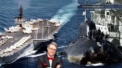 Kinh hoàng những vụ tàu ngầm Liên Xô đâm vào tàu sân bay Mỹ
