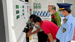 Phát hiện 01 cây xăng ở An Giang tháo dỡ niêm phong, kẹp chì
