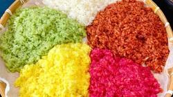 Cách tạo màu tự nhiên để nấu xôi ngũ sắc bóng bẩy, đẹp bắt mắt
