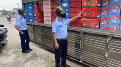 Tiền Giang: Phát hiện lượng lớn trái cây xuất xứ Trung Quốc vi phạm nhãn hàng hóa