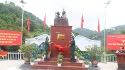 """Lạng Sơn: Khánh thành tượng đài """"Bác Hồ với chiến sỹ Biên phòng"""""""