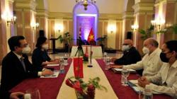 Việt Nam-Cuba phối hợp chặt chẽ thúc đẩy hợp tác kinh tế, thương mại đầu tư