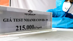 Vĩnh Phúc: Loạn giá xét nghiệm nhanh Covid-19 tại chốt kiểm dịch