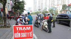Hà Nội: Phân luồng giao thông ra vào các vùng