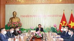 Chủ nhiệm UBKT Trung ương đề nghị Trung Quốc hỗ trợ đào tạo chuyên sâu ngành kiểm tra, giám sát, phòng, chống tham nhũng