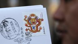 Trung Quốc choáng váng vì tem rồng mặt quỷ