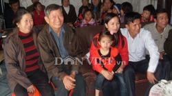 Thủy thủ Hùng và gia đình hạnh phúc trong ngày đoàn tụ