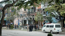 Nổ tung cửa, gia đình Giám đốc Công an Thái Nguyên thoát nạn
