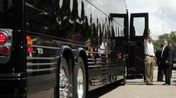 Tổng thống Mỹ đi xe buýt... bọc thép