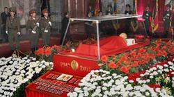 Thi hài Chủ tịch Kim được trưng bày vĩnh viễn