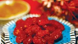 Cực dễ làm mứt cà chua bi