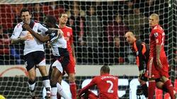 Liverpool thua đau trên sân Bolton