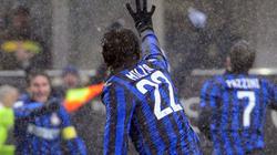 "Milito lập ""poker"", Inter vẫn bị Palermo cầm hòa"