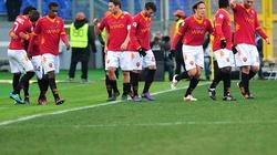 """Roma trút """"mưa bàn thắng"""" vào lưới Inter"""