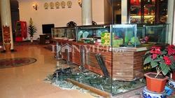 Nổ khí ga trong khách sạn, 5 người bị thương