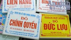 """Đi chùa Hương, gặp """"cò mồi"""" quái chiêu"""