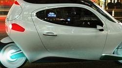 Xe điện C-1: Sự kết hợp ô tô với xe máy