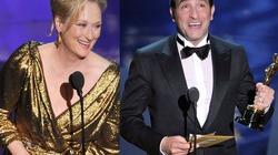 Khoảnh khắc thăng hoa của sao Oscar cùng tượng vàng
