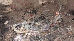 Xe Airblade bốc cháy, thiêu rụi đồ trong nhà