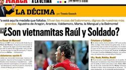 Bóng đá Việt 3 lần lên báo Tây Ban Nha: Cười hay khóc?
