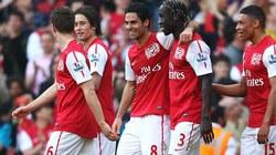 Hạ Aston Villa, Arsenal tiến vào Top 3