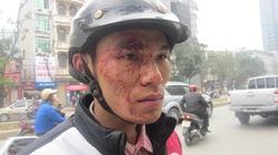 Lái, phụ xe buýt đánh khách túi bụi giữa Hà Nội