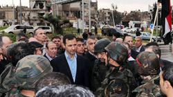 Đoàn hộ tống Tổng thống Syria bị tấn công