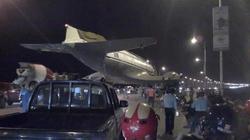 Thực hư chuyện máy bay dân dụng hạ cánh trên cầu Vĩnh Tuy