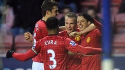 Wigan-M.U (0-4): Quỷ đỏ mở tiệc tân niên tưng bừng