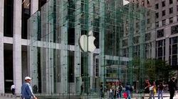 """Cửa hàng Apple bị trộm """"thăm"""" tối giao thừa"""