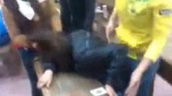 Xuất hiện clip nữ sinh bị đánh hội đồng tàn bạo