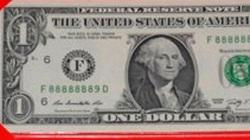 Tờ 1 USD may mắn được hét giá 5 triệu đồng