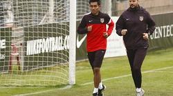 """""""Sao"""" Thái Lan thử việc ở Atletico Madrid"""