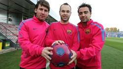 La Liga áp đảo Đội hình tiêu biểu châu Âu 2012