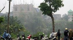 Hiện trường đổ nát của vụ sập mái nhà thờ khiến 3 người chết