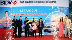 BIDV trao thưởng xe ôtô Toyota Camry