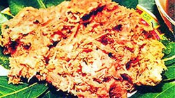 Hấp dẫn món chịn xồm của người Thái