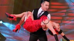 Nhảy quá sung, Thanh Thúy suýt lộ ngực