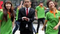 """Cười nghiêng ngả với clip """"Obama Kangaroo Style"""""""
