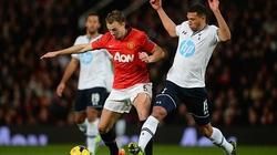 Thua đau Tottenham, M.U đứt mạch 6 trận toàn thắng