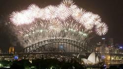 Màn bắn pháo hoa đón năm mới 2014 hoành tráng nhất thế giới