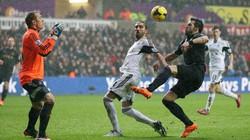 Clip: Man City đánh bại Swansea City 3-2